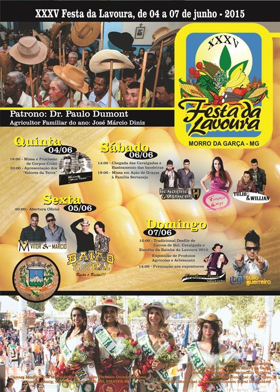Festa da Lavoura cartaz_2015